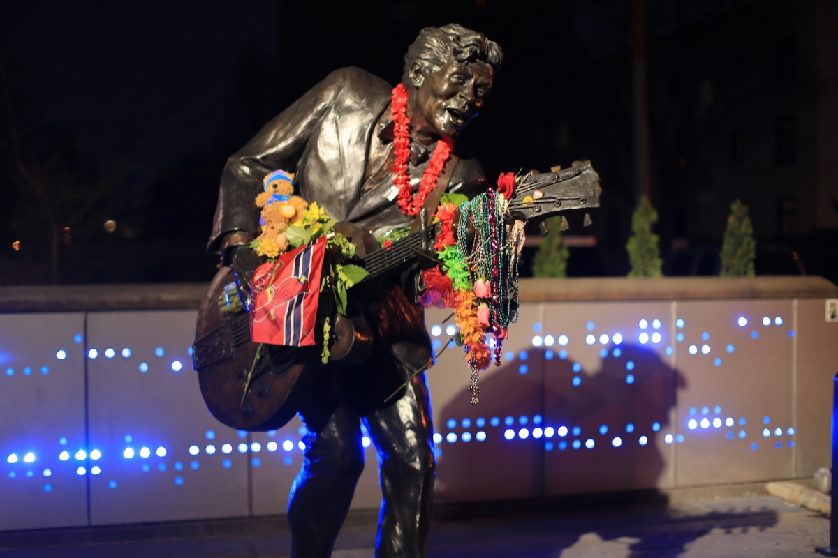 Chuck Berry Lives On In The U. City Loop
