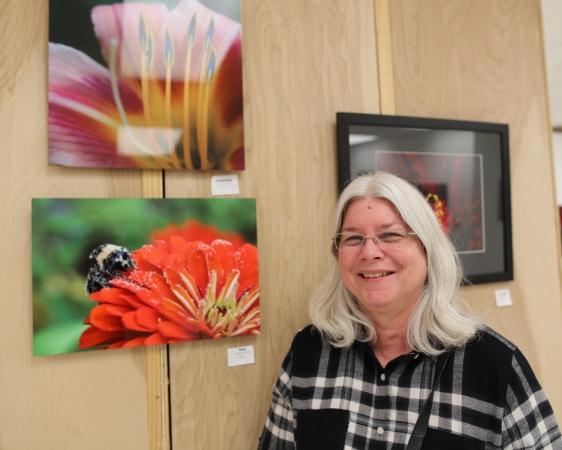 Denise McKay and her award-winning macro photos.