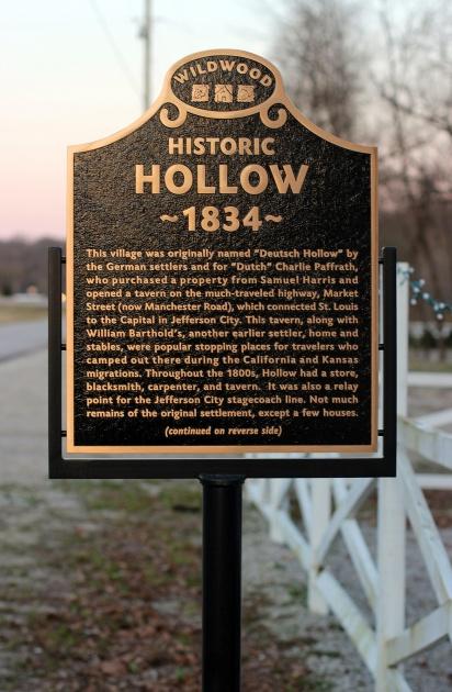 Historic Hollow Marker