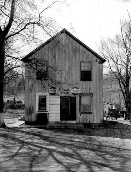 Stovall Tavern 1958