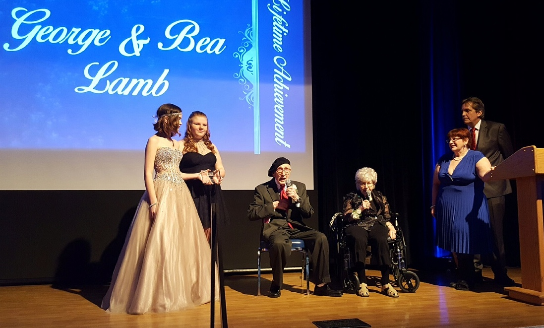 Community Theatre Veterans George And Bea Lamb Honored With Lifetime Achievement Award