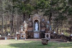 Madonna shrine