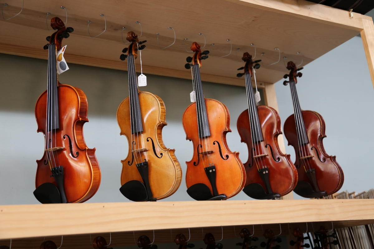 Top Notch Violins provide instruments for any budget and skill level