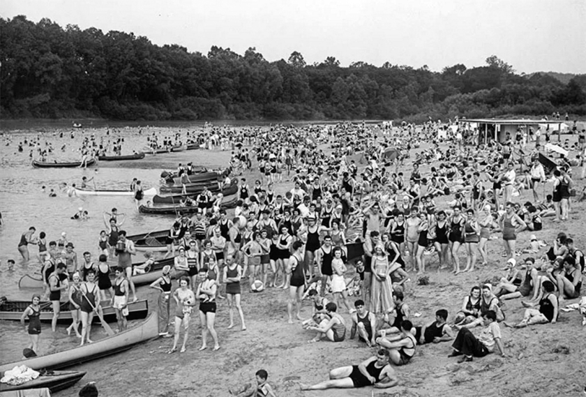 Lincoln Beach 1920s