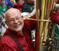 Hiram Martin at Tuba Christmas.